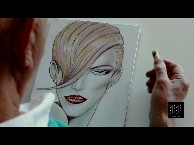 Jose Luís Grupo Moda, nos explica cómo nació su pasión por el dibujo