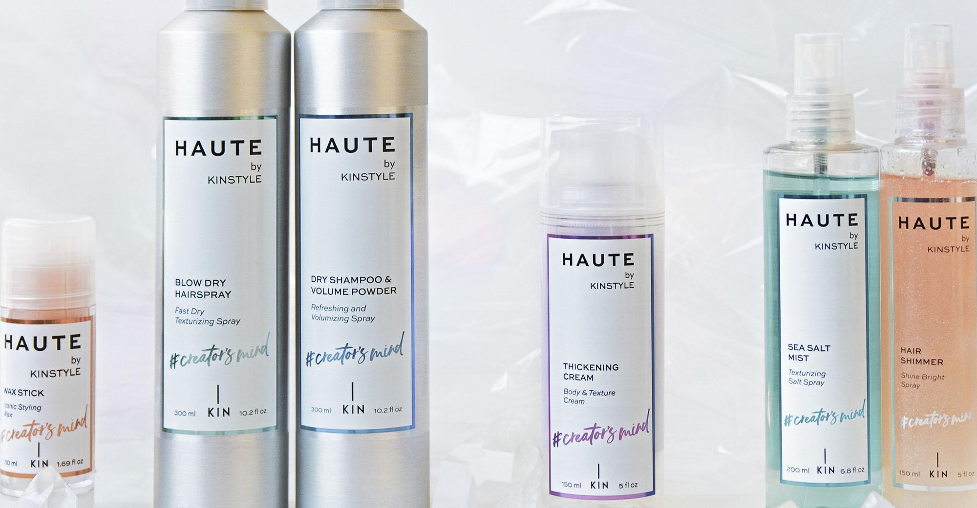 Linea Haute de Kin Cosmetics